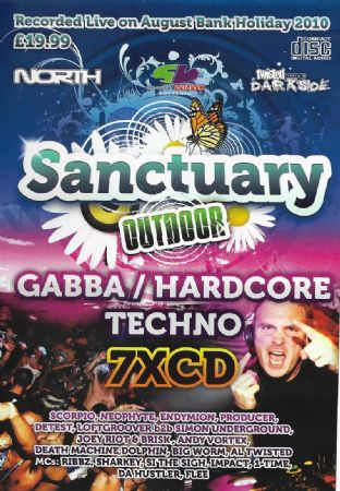 Slammin Vinyl - Sanctuary Outdoor - 2010 - Gabba Techno pack